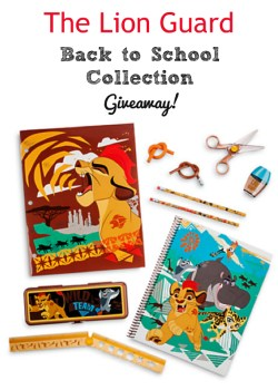 The Lion Guard DVD & Back to School Collection Giveaway!