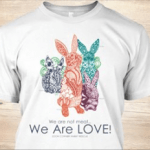 "Zooh Presents ""We Are LOVE"" Tees"
