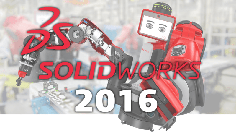 SOLIDWORKS 2016-