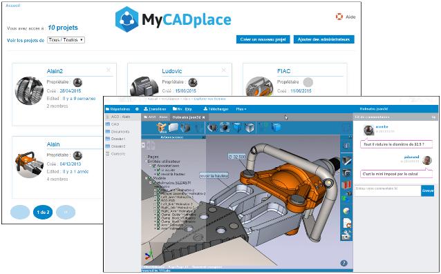 myCADplace_Une