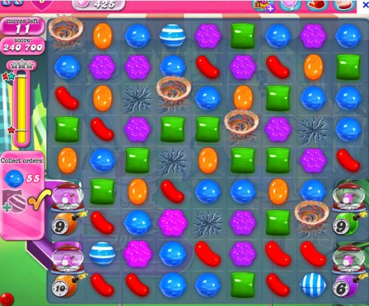 Candy Crush Saga niveau 425