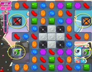 Candy Crush Saga - niveau 109