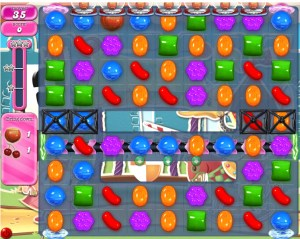 Candy Crush - Niveau 674 - Monde réel - Monde réel - Episode Crunchy Courtyard