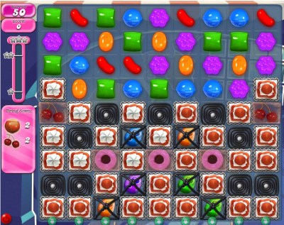 Candy Crush Saga - niveau 841
