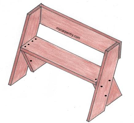 diy wooden magazine rack