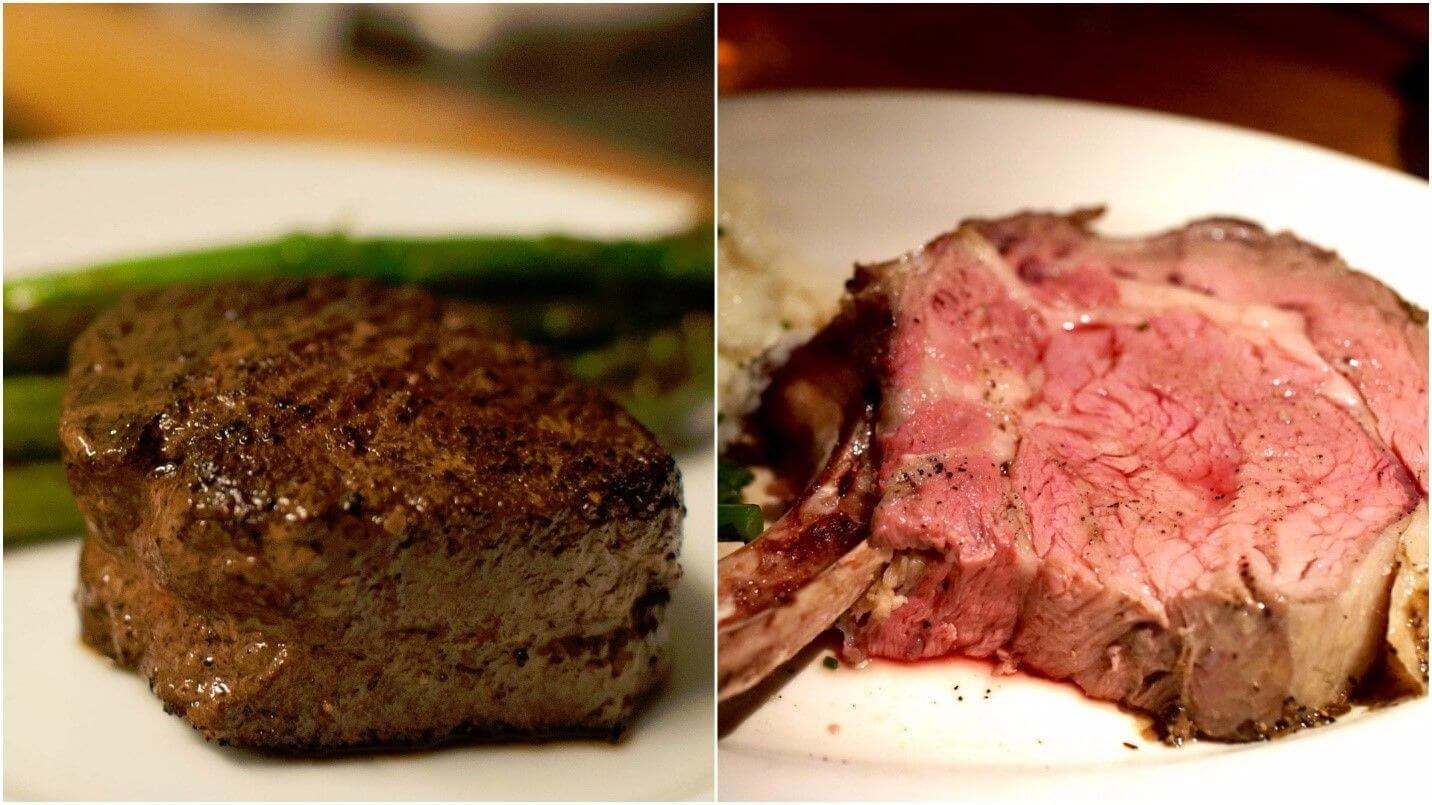 Flossy Prime Rib Vs Filet Steak U Prime Rib Steak Price Prime Rib Steak Recipe Oven nice food Prime Rib Steak