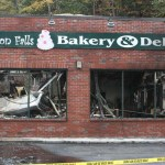 The interior of Beacon Falls Bakery & Deli was destroyed early Friday morning by a fire. Local and state police are conducting an arson investigation.