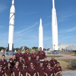 Cadets have the opportunity to travel to such aerospace science landmarks like the Kennedy Space Center in Florida, above.