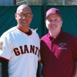 UCLL President John McSweeney and the league welcomed former major league outfielder Candy Maldonado to Saturday's opening ceremony.