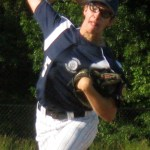 Tom Arsenault's complete game Monday was good for eight strikeouts.