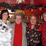 From left, LAOH officers, Treasurer Diane Fassio, Financial Secretary Peg LeClair, President Antoinette Cronin, and Vice President Dorothy Knowles.