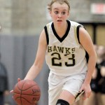 Woodland's Lindsay Feducia scored 14 points in the Hawks' victory over Naugatuck on Tuesday night. - RA ARCHIVE