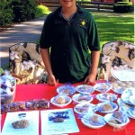 Brandon Hawks sells sweets to raise money for Naugatuck's fountain.