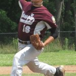 Matt Zahornasky of Naugatuck has made it mark on the mound during an accolade-filled athletic career. Zahornasky plans to pitch at Manchester Community College in the fall. FILE PHOTO