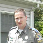 Beacon Falls resident state Trooper Anthony Cipriano was temporarily reassigned to Troop I state police barracks in Bethany while state police investigate a complaint against him. RA ARCHIVE