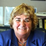 Democrat First Selectman Susan Cable is looking to secure her eighth consecutive term in office.  LARAINE WESCHLER