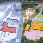 This design shows how Algonquin School in Prospect will be turned into a new district office for Region 16. CONTRIBUTED
