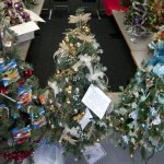 About 100 trees will be showcased in this year's Festival of Trees, put on by the United Way of Naugatuck and Beacon Falls. A reception and silent auction will be held at the Naugatuck Savings Bank on Church Street in Naugatuck Friday evening. RA ARCHIVE