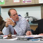 The Naugatuck Board of Education approved a new, three-year contract for teachers Thursday night. LARAINE WESCHLER