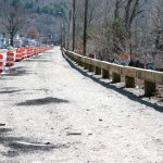 Work on the streetscape in Beacon Falls is expected to start again in early April with a target completion date of May 15. –ELIO GUGLIOTTI
