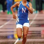 Naugatuck resident Michaela Pernell made a name for herself on the track as a freshman at Nonnewaug High School in Woodbury. Pernell helped the Chiefs win their 17th straight Berkshire League title and raced all the way to the New England championships.  –RA ARCHIVE