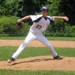 Dylan Cummings of Prospect-Beacon Falls Posts 194-25 pitches versus Naugatuck earlier this summer. The young squad didn't win a game this season but showed marked improvement over the summer. –FILE PHOTO
