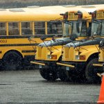 The Naugatuck Board of Education approved an extension of its busing contract with Student Transportation of America. –RA ARCHIVE