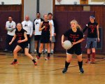 Charity dodgeball tournament draws a crowd