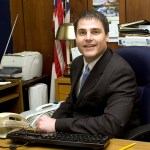Naugatuck Mayor Robert Mezzo will be honored with the Lewis A. Dibble Award. –FILE PHOTO