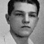 Edmund Poscavage as pictured in Naugatuck High School's 1934 yearbook. –CONTRIBUTED