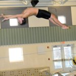 Woodland diver Steve McCusker became the first male diver at the school to earn all-state honors. –FILE PHOTO