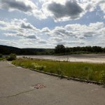 Cleanup of contaminated soil at the old Peter Paul site on New Haven Road in Naugatuck is finished and the lot remains for sale. –RA ARCHIVE