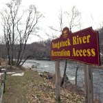 The Naugatuck River Recreation Access, which is used for launching small watercraft, will be the starting point for phase two of the Naugatuck Pedestrian Greenway.  Work on phase one of the greenway is ongoing including construction of retaining walls and fencing near Linden Park. –RA ARCHIVE