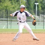 Nate Clarke and the Prospect-Beacon Falls American Legion baseball team broke into the win column with a 4-3 extra-inning win over New Milford on Sunday. Clarke led off the scoring with a two-run single. –FILE PHOTO