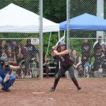 Naugatuck High's Erika Andreoli (9) has been selected to play softball for Team America next summer. –FILE PHOTO
