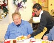The Naugatuck Senior Center hosted its annual Christmas Luncheon on Dec. 5. –LUKE MARSHALL
