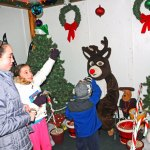 Naugatuck Park and Recreation hosted its annual Santa's Village Dec. 13-23. –LUKE MARSHALL