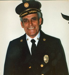 Former Naugatuck Fire Chief John Gaspar will be inducted into the Connecticut State Firefighters Association's Hall of Fame. –CONTRIBUTED