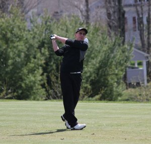 Ryan Warner (pictured) and Mike Erickson have led the Woodland golf team to three more wins already than all of last season. –FILE PHOTO