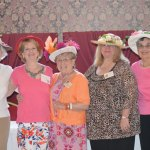 Naugatuck Woman's Club officers, from left, Membership/ Registrar Rose Mary Cuddy, Vice President Pam Adamski, President Laura P. Smith, Treasurer Beverly Hudson and Corresponding Secretary Mary Oliveira pose for a photo following the club's Kentucky Derby luncheon in May. The luncheon helped boost the club's medical fund as proceeds from two 'races' benefited the fund. The medical fund is used to help those in need for associated medical expenses during an illness. For more information on the fund or anyone in need of assistance, contact Smith at (203) 729-4263 or visit www.facebook.com/TheNaugatuckWomansClub. –CONTRIBUTED