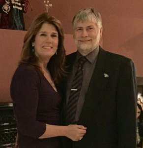 Rebecca Zandvliet, left, and her husband, Peter Zandvliet, are the recipients of the Mary H. Connelly Community Caring Award given annually by the United Way of Naugatuck & Beacon Falls. –CONTRIBUTED