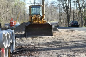 Work resumed this week on the reconstruction of Scott Road in Prospect. –REPUBLICAN-AMERICAN