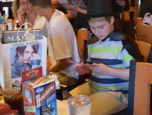 Christian Caruso, 11, of Naugatuck, a cancer survivor, will get to see his hero, magician Criss Angel, in Las Vegas thanks to the Make-A-Wish Foundation. -REPUBLICAN-AMERICAN