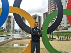 Mohamed Hrezi, a 2009 graduate of Naugatuck High School, fulfilled his Olympic dream at the 2016 Summer Games in Rio de Janeiro, Brazil when he competed in the men's marathon for Libya. –CONTRIBUTED