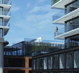Clear Spirit and Gooderham Balconies