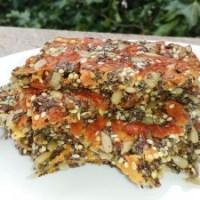Хрупкави солени крекери със семена