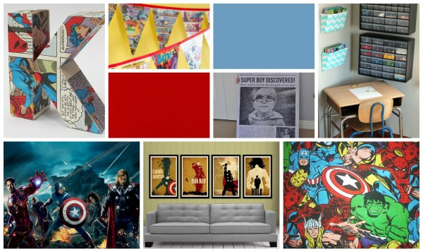 Avengers Room Paint Ideas
