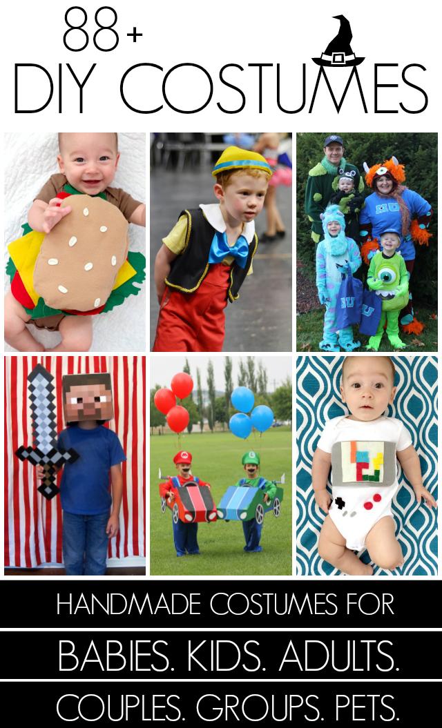 88 handmade costumes