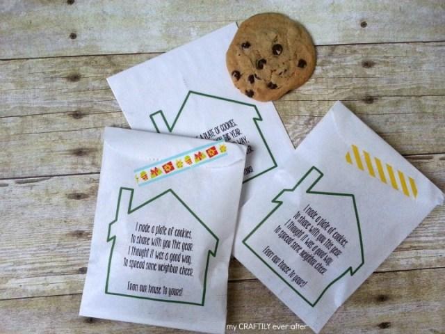 printable gift bags for neighbor gifts