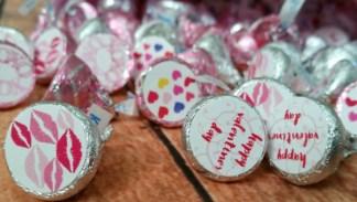kiss stickers